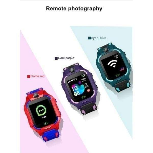 Q19 Positioning Touch Screen Camera Phone Smart Watch Life Waterproof English Version