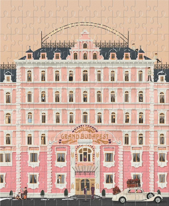 The Grand Budapest Hotel (buy 2 set free shipping)