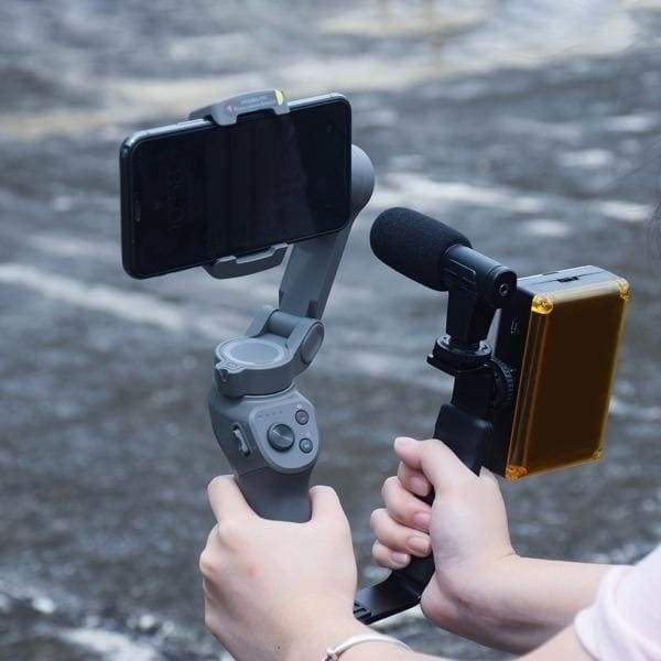 Cool New Handheld L-Shape Handle Mount Gimbal Grip Bracket for OSMO Mobile 2 3 Camera