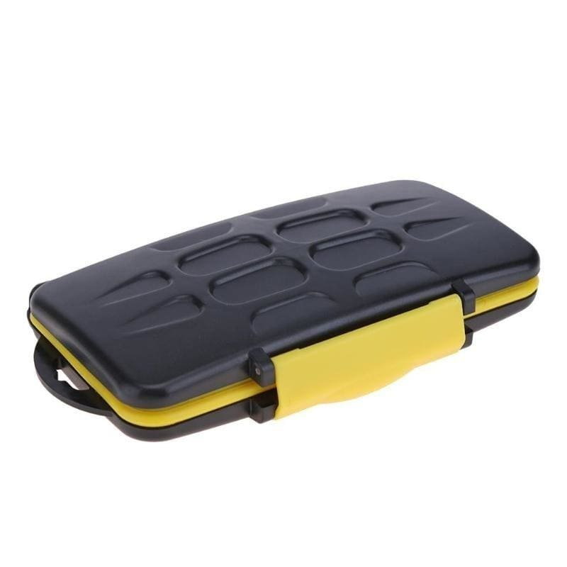12 Slot Waterproof Memory Card Case Protector Holder SD Micro SD TF Cards Storage Box Protective Cover Case Carry Bag
