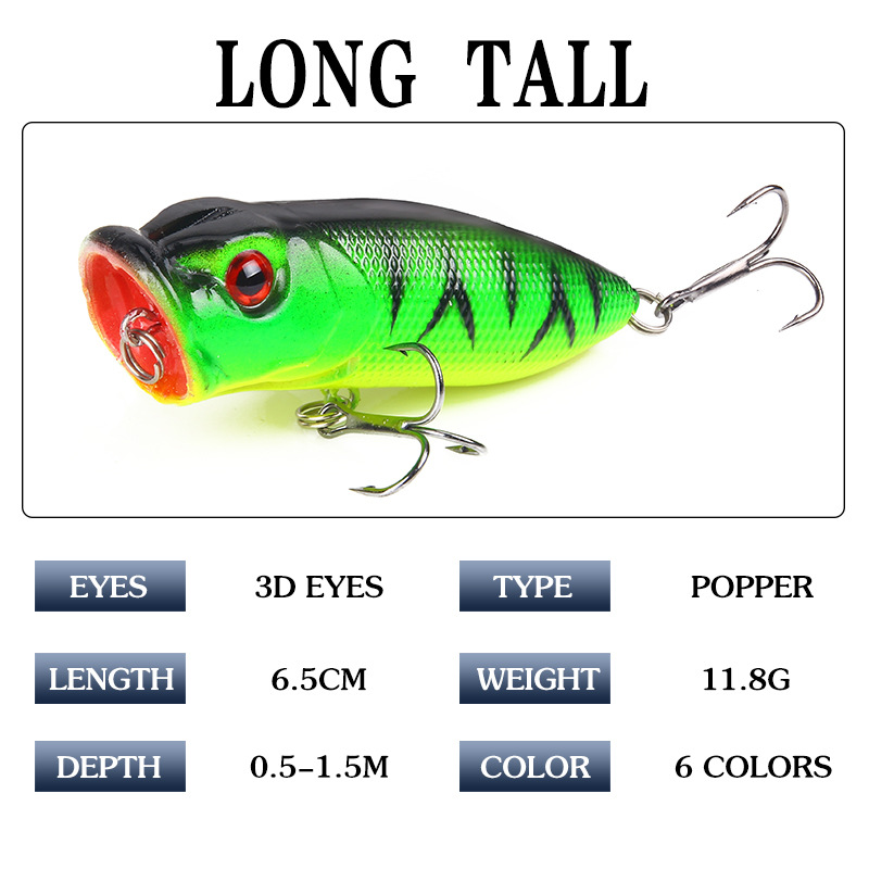 XY-203 Popper Fishing Lures