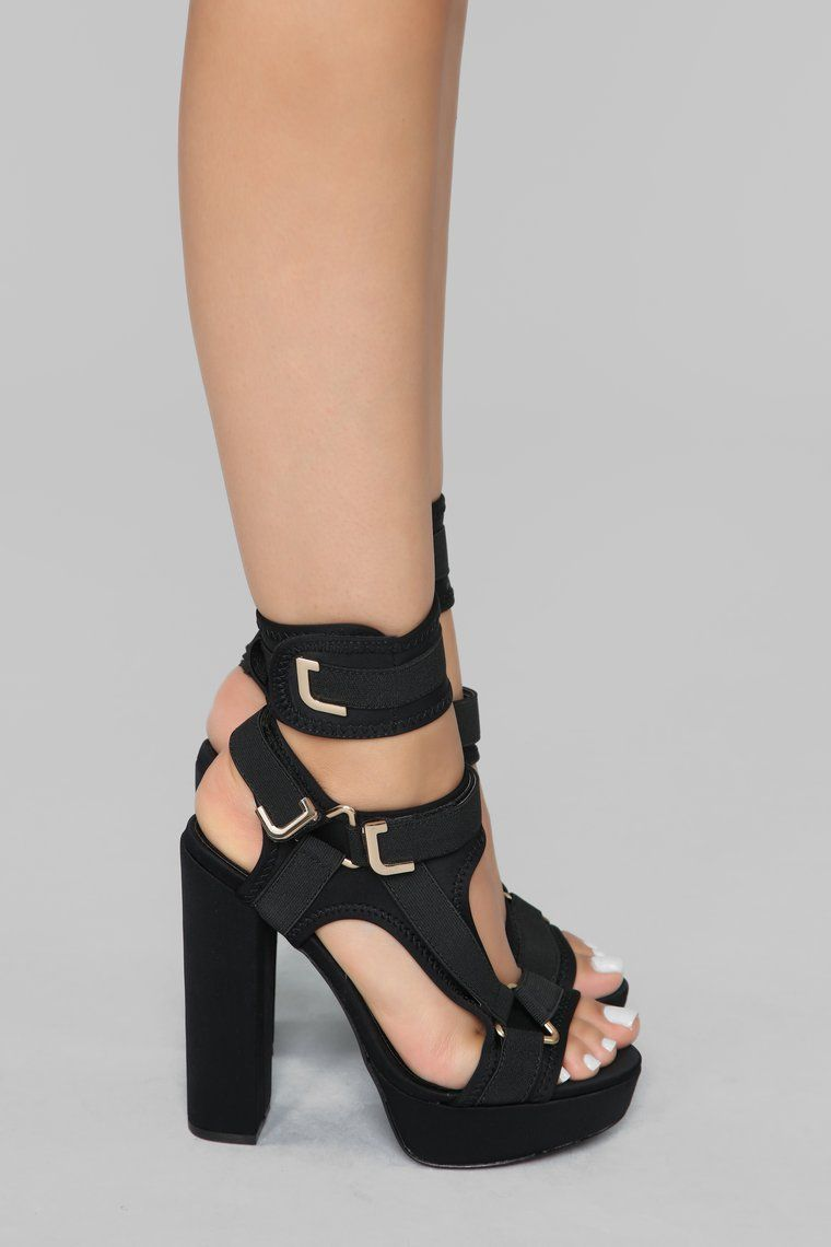 Trendy High Heel Shoes Most Comfortable Shoes Stacked Heel