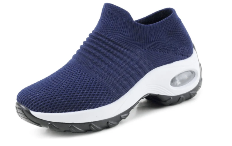 PREMIUM Walking Shoes, Mesh Slip-on Sneakers for Summer, Breathable Fabric Super Soft Shoes