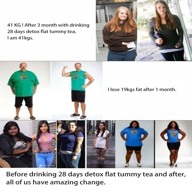Foraging Detox Tea - (10/20/40/60 /) Tea Bag, used to increase metabolism, prevent unhealthy food cravings, eliminate toxins and strengthen the immune system