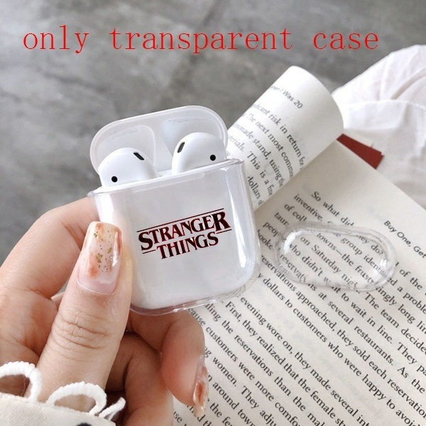 things0 Earphone Transparent Case Cover For Apple Airpods( Only Transparent Airpods Case)