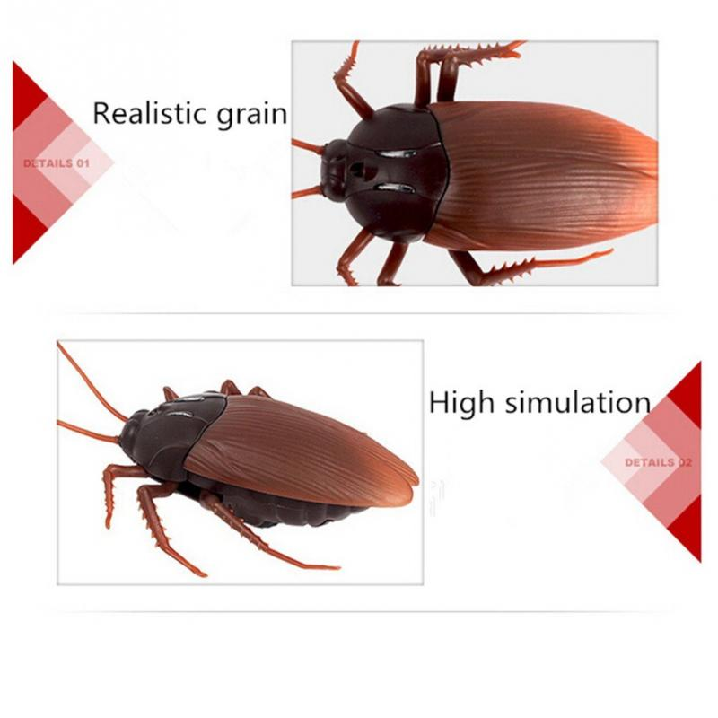 【🔥Limited Quantity 50% OFF 🔥TODAY】Halloween gifts Remote control cockroach