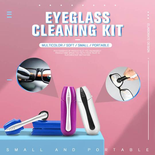 Eyeglass Cleaning Kit ( BUY 4 FREE SHIPPING & 20% OFF )