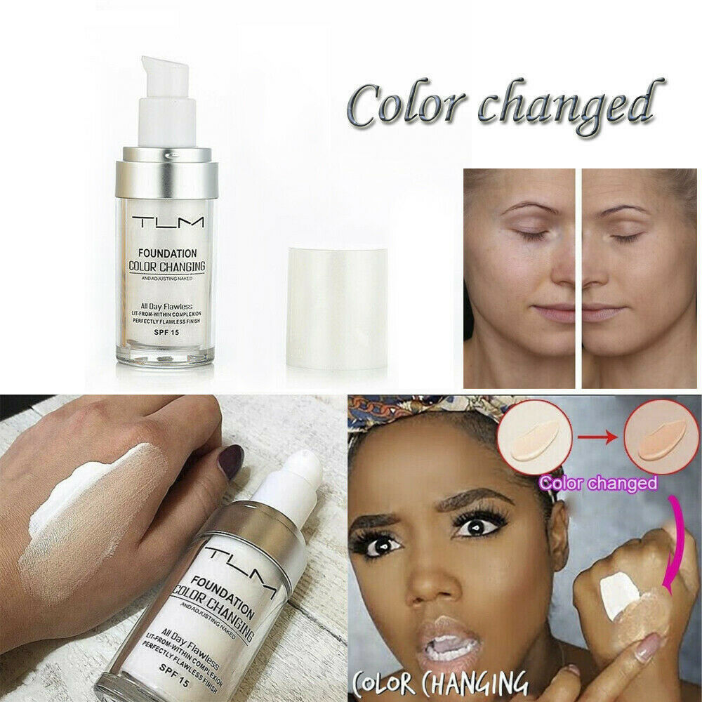 TLM COLOR CHANGING FOUNDATION(All Day Flawless)-Suitable for all skin tones