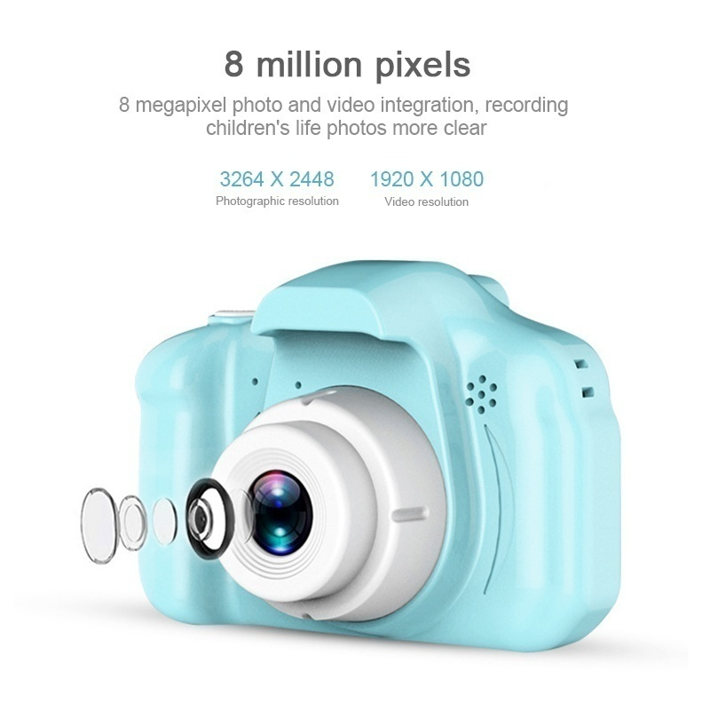 Mini Children'S Digital Camera 2.0 Inch Camera Camera Children'S Educational Toy Camera