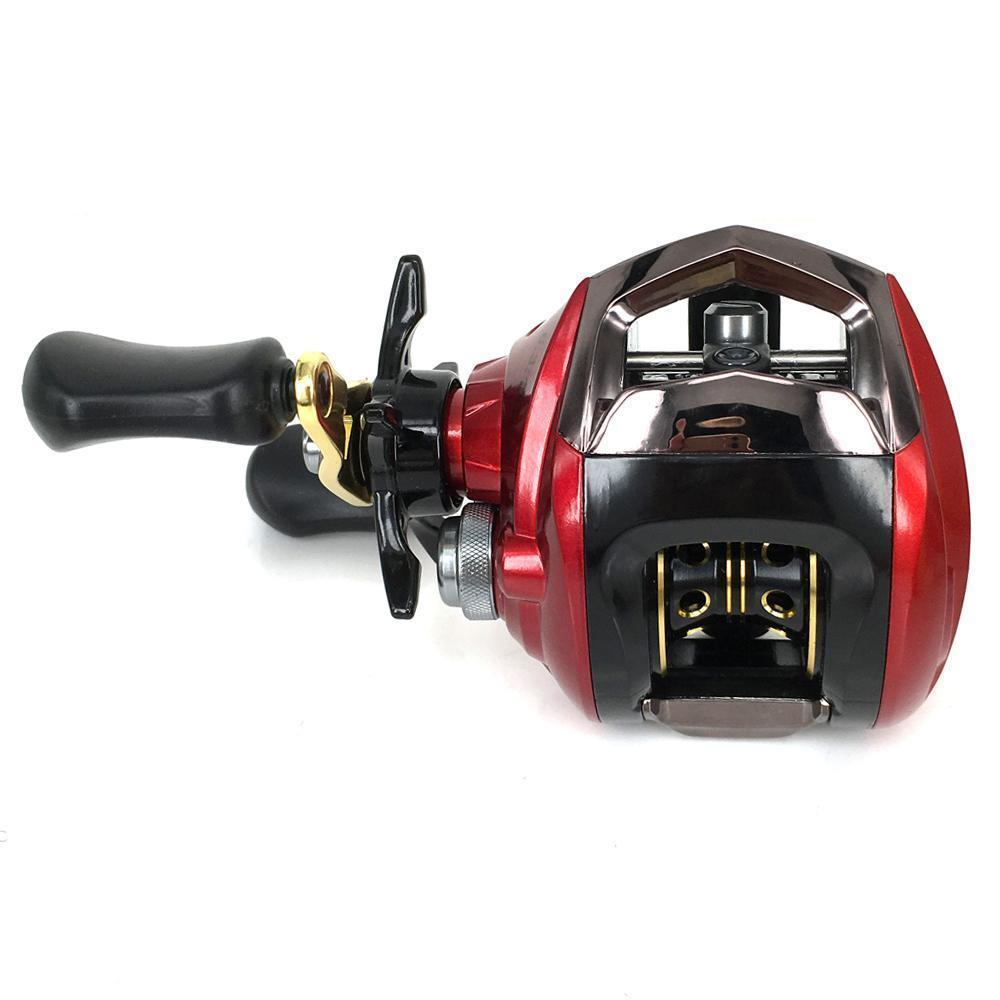 Baitcasting Reel 11 Ball Bearings Fishing Bass Fishing Left Handed Right Hand