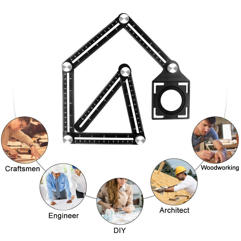 (Father's Day Promotions-50% OFF)NOSEPLUM™️ SIX-SIDED ANGLE MEASURING TOOL(Buy2 get FREE SHIPPING)