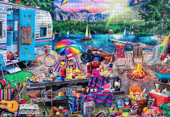 Granny's Sewing Room 500/1000 piece puzzle