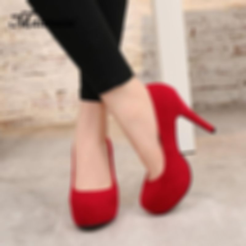Trendy High Heel Shoes Comfy Shoes Silver Mid Heels