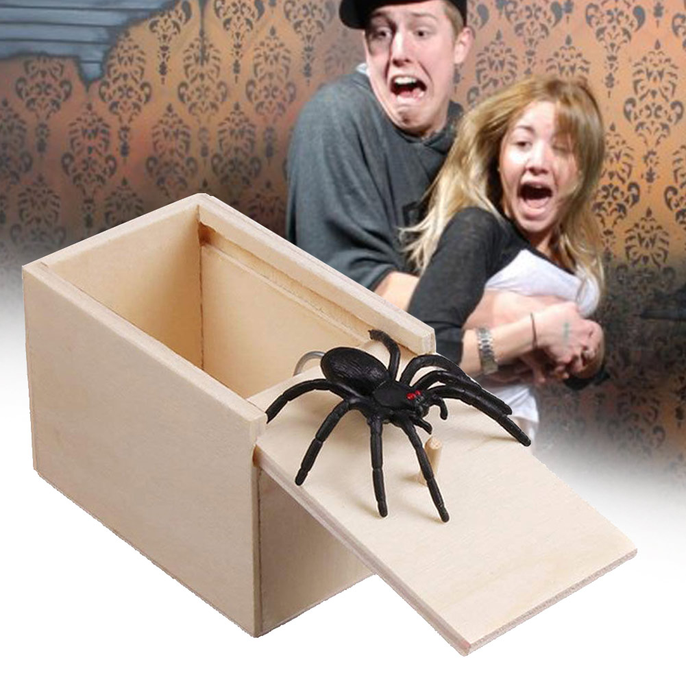 Buy one get one free today!! - Scare Box Spider Prank