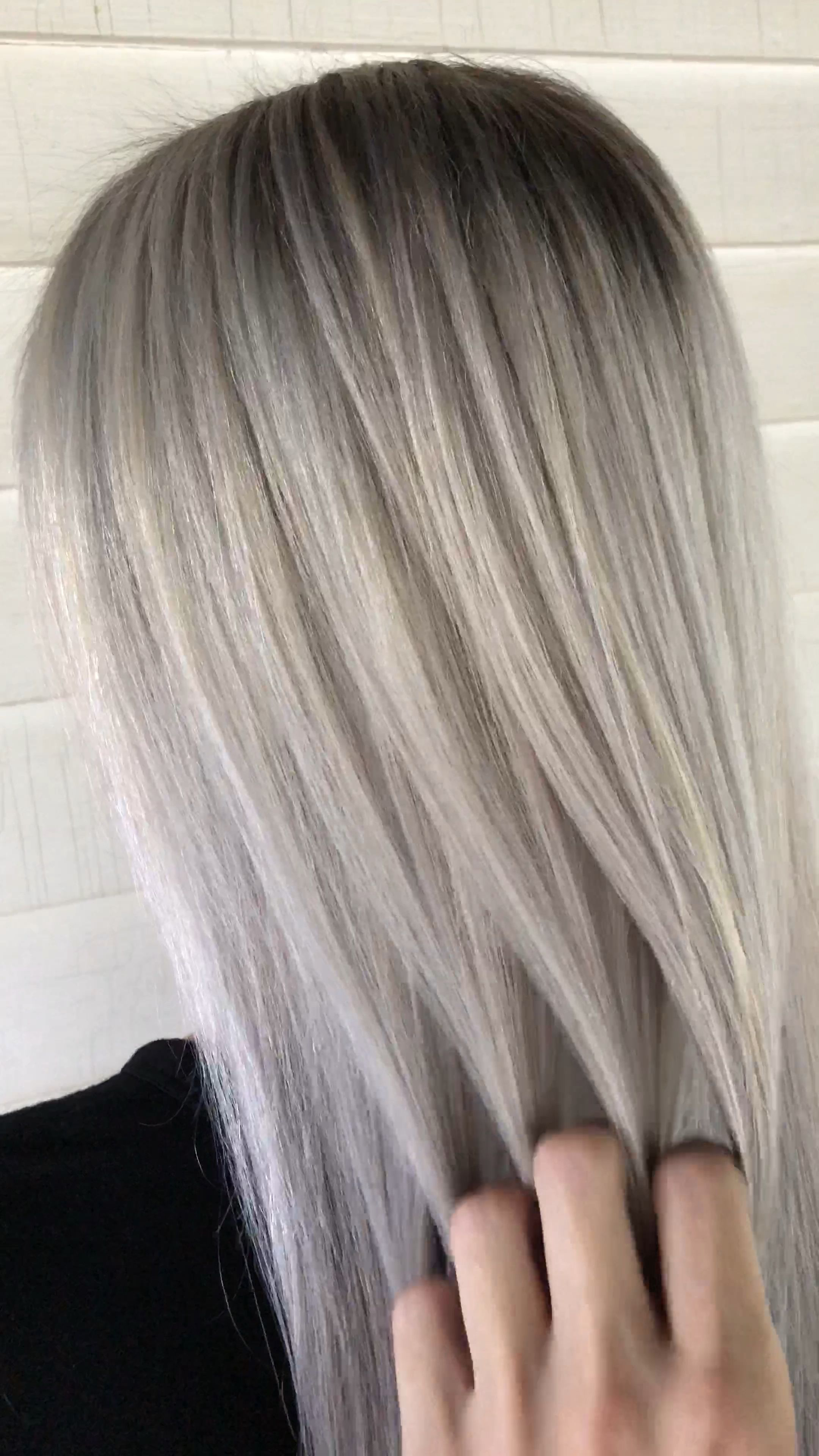 2020 New Gray Hair Wigs For African American Women Granny Grey Lace Front Wigs For Sale Gray Hair At 17 Vampire Wig Best Synthetic Lace Front Wigs