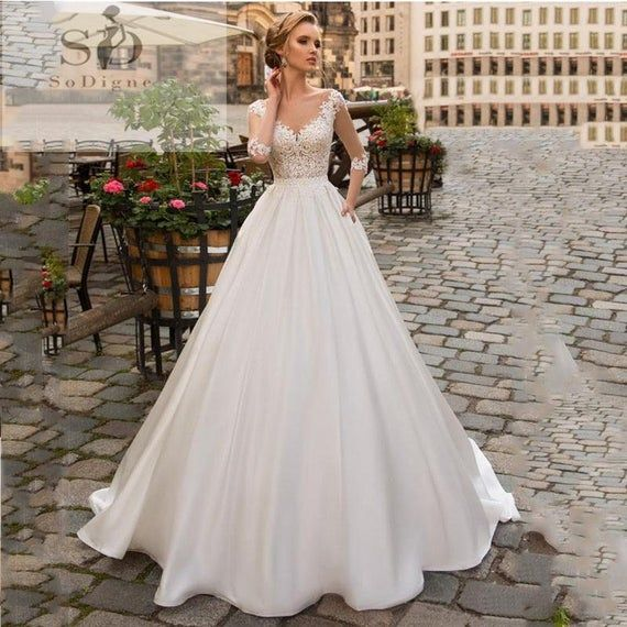 2020 New Wedding Dress Fashion Dress mother of the bride outfit blu rayne bridal boutique