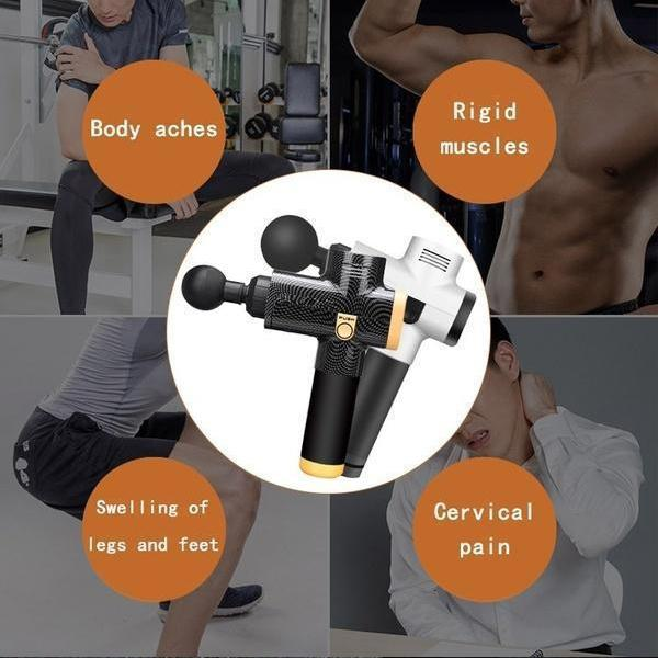 (Last Day Promotion 60% OFF) 4 In One,Relieving Pain,3 Speed Setting Body Deep Muscle Massager
