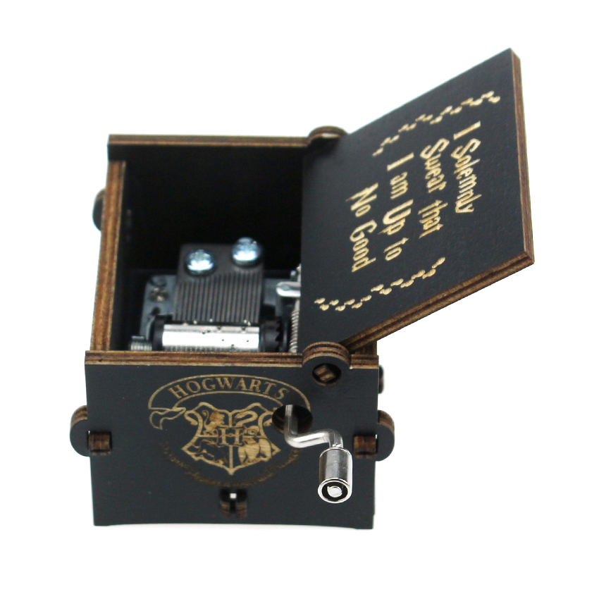 Arosetop Hand Operated Harry Potter Theme Song Music Box