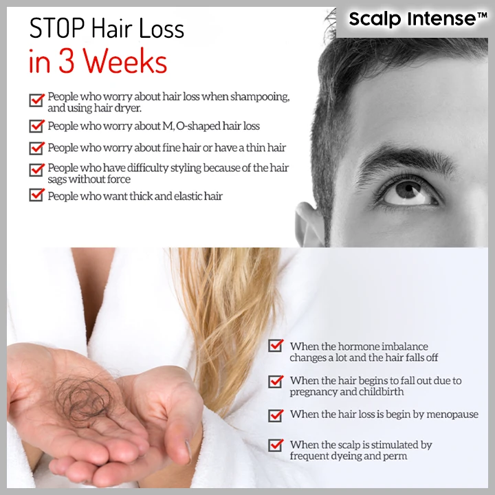 Scalp Intense™ Roll-on Hair Growth Serum - Buy More Save More