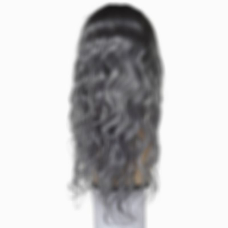2021 New Lace Front Wigs Wigs With Gray Highlights Lace Front Wig Pink Ombre 613 Hair With Dark Roots