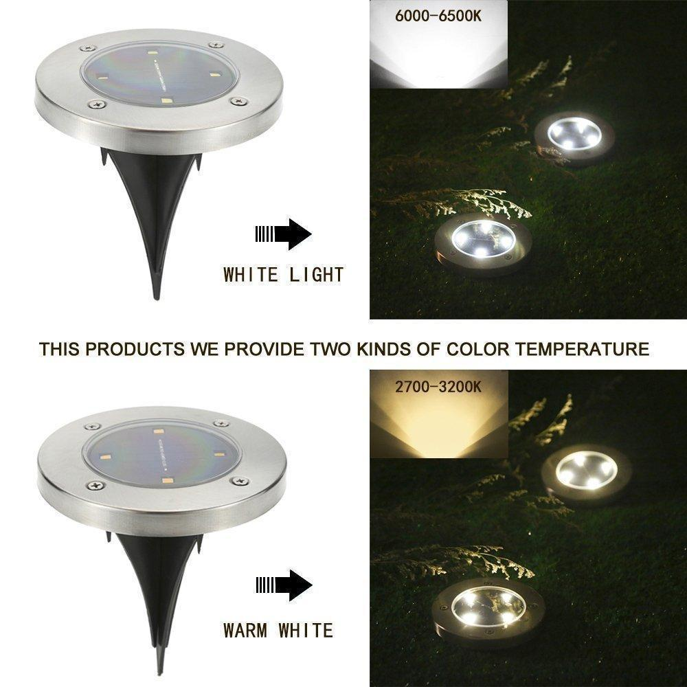Solar Powered LED Path Light