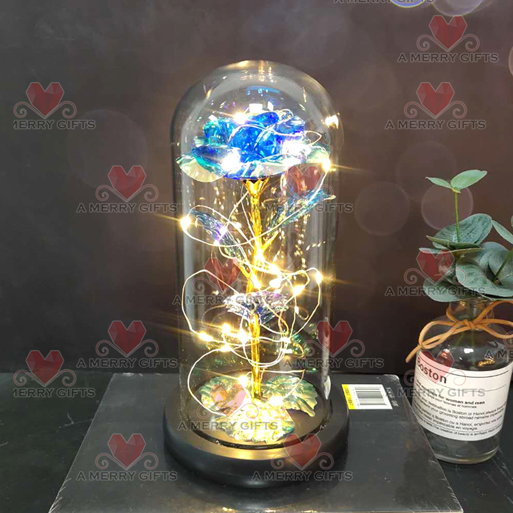 Galaxy Enchanted Rose with LED Lights