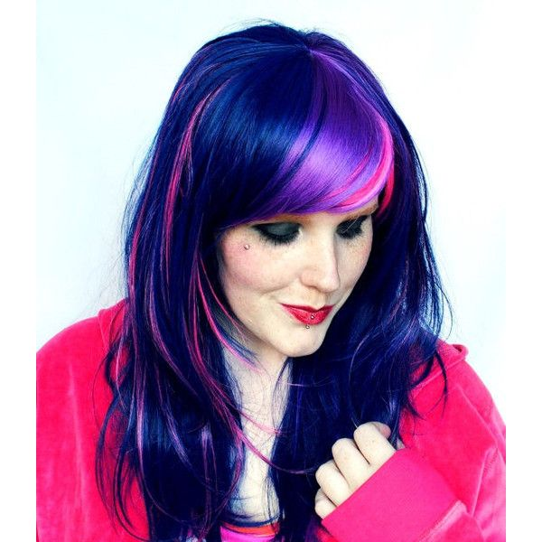 Blue Wigs Lace Frontal Wigs Cheap Human Wigs Half Red Half Blue Hair Red Hair To Blue Hair Without Bleach Blue And Red Hair Color