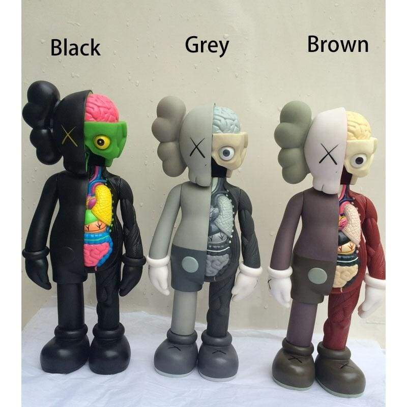 20CM 3 Colors Originalfake KAWS BLUSH Dissected Companion Limited Edition Action Figure Toys Original Fake with Red Retail Box
