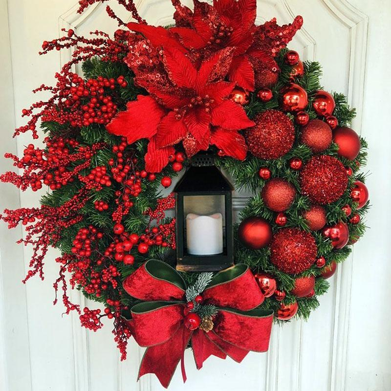 🔥FREE SHIPPING🔥Elegant Red Christmas Wreath
