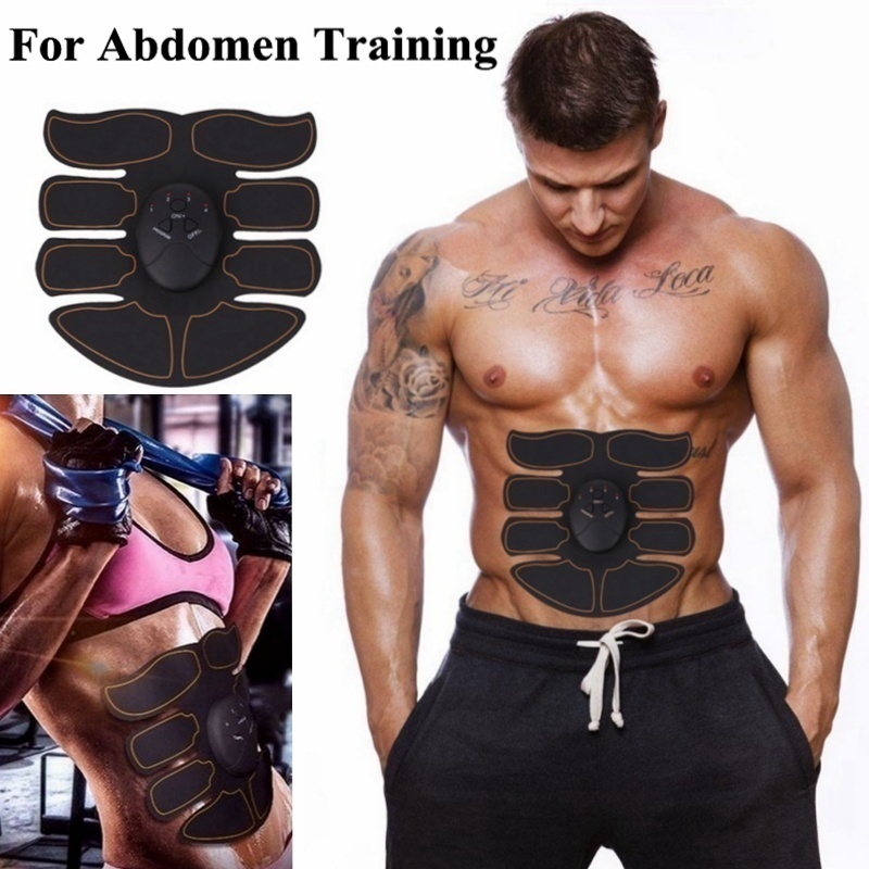 NEW Professional EMS Muscle Training ABS Fitness Muscle Fat Burning Smart Abdominal Trainer Device