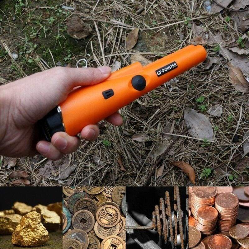 Pinpointing Portable Underground Metal Gold Detector Treasure Hunter Tracker