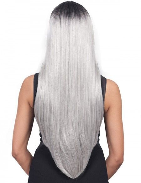 2020 New Gray Hair Wigs For African American Women Cosswigs Mens Grey Hair Treatment Fake Scalp Wig Best Way To Cover Gray Roots Between Colorings Grey Hair Cover Up