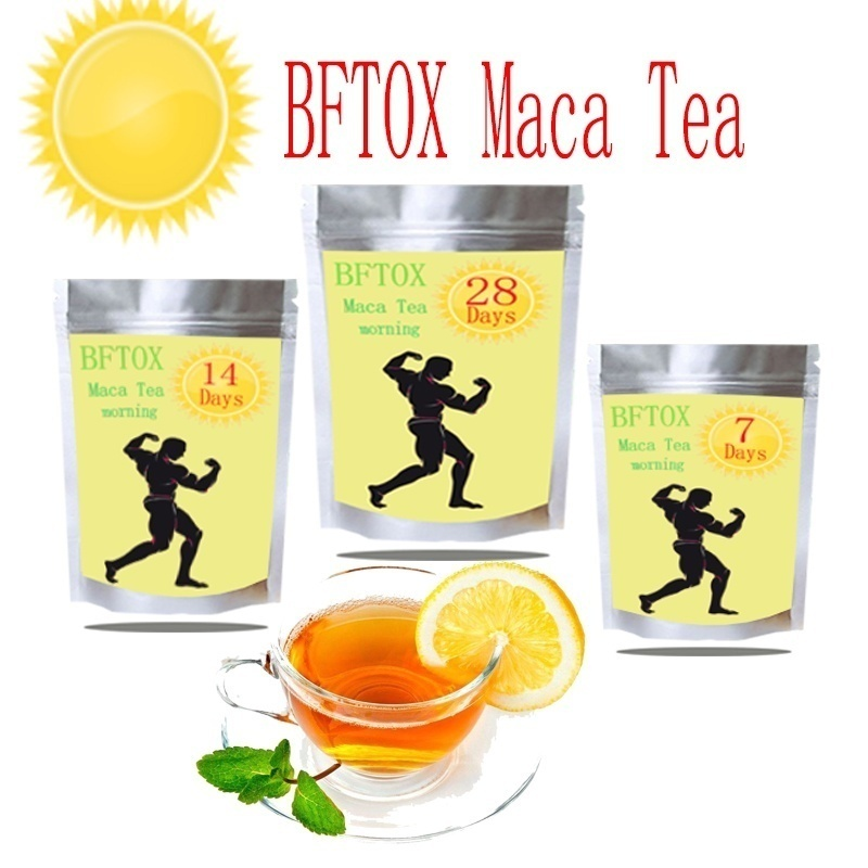 Maca Tea  14 days / 28 days (morning and evening +) pure natural herbal BFTOX maca tea, conditioning male functional tea,