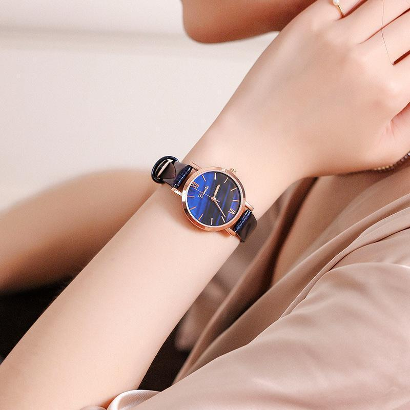 GIRL'S Minimalist style Gradient Color Watch
