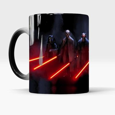 The ultimate gift for Star Wars fans - Star Wars Mug, Lightsabers Appear With Heat (12 oz)