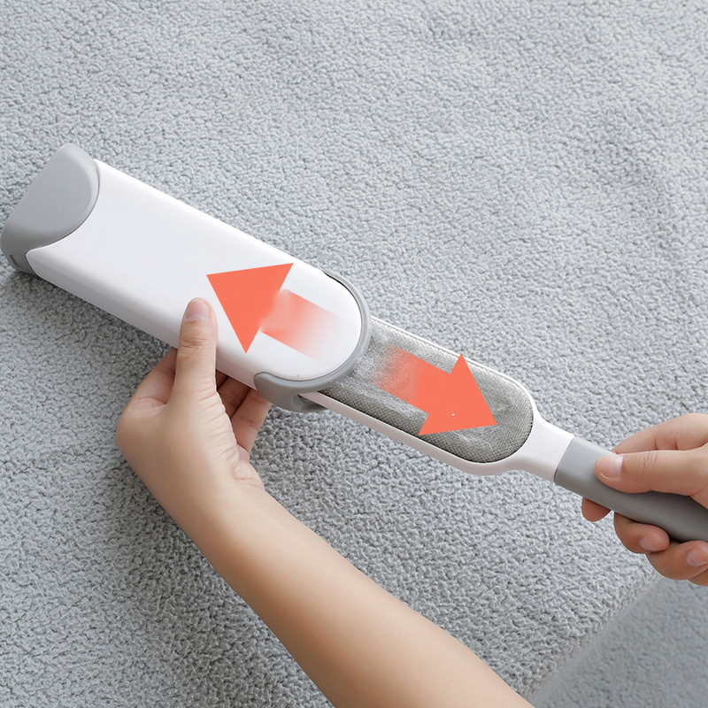 Disposable Double-Sided Hair Removal Brush!