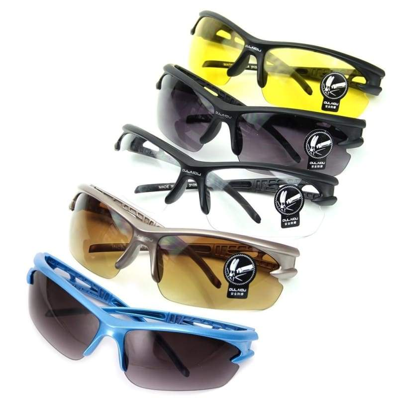 Hot Transparent UV Protective Goggles Running Sports Driving Cycling Sunglasses