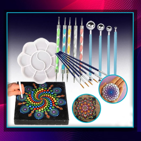 Today 49% Off-DIY Mandala Dotting Tools for Painting Rocks