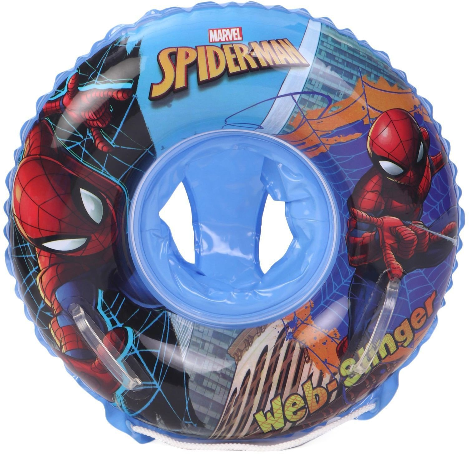 Spiderman Swimming Ring with Seat Swimming