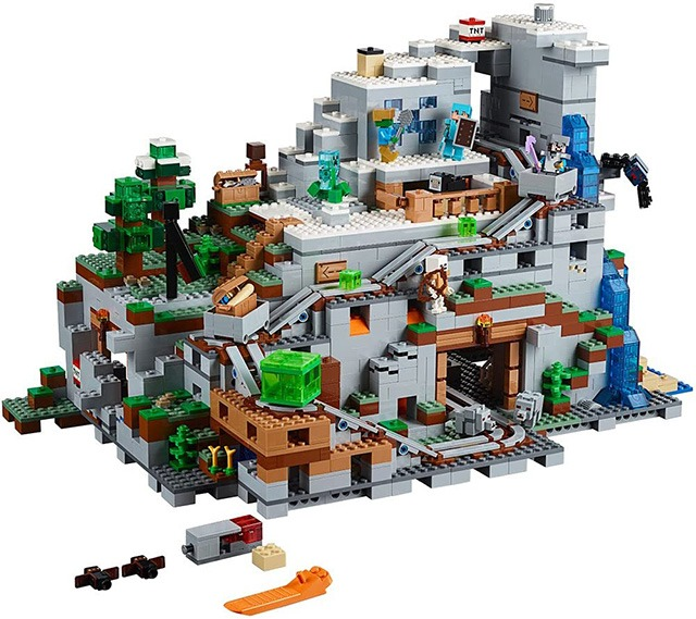 [ Factory Outlet & Limited Time Offer!! ]  The Mountain Cave Building Kit - Free Shipping