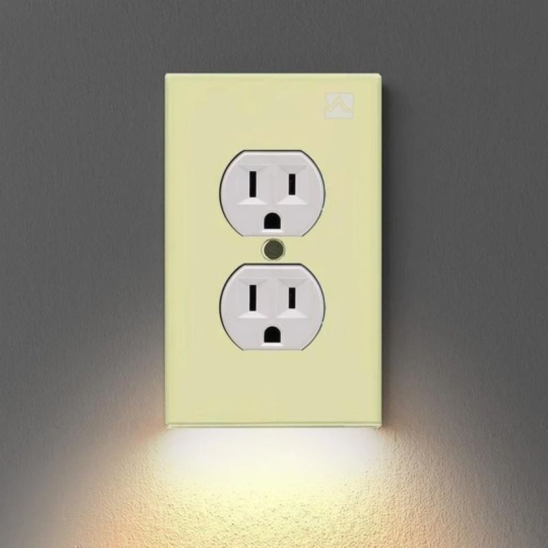 (Father's Day Promotions- SAVE 50% OFF) Outlet Wall Plate With Led (Buy 6 Free Shipping)