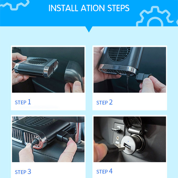 (Buy More Save More)🔥Hot Sale🔥Car multifunctional seat back fan