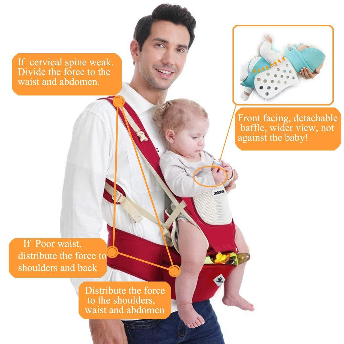 Baby Carriers Front and Back for Newborn Baby Wrap