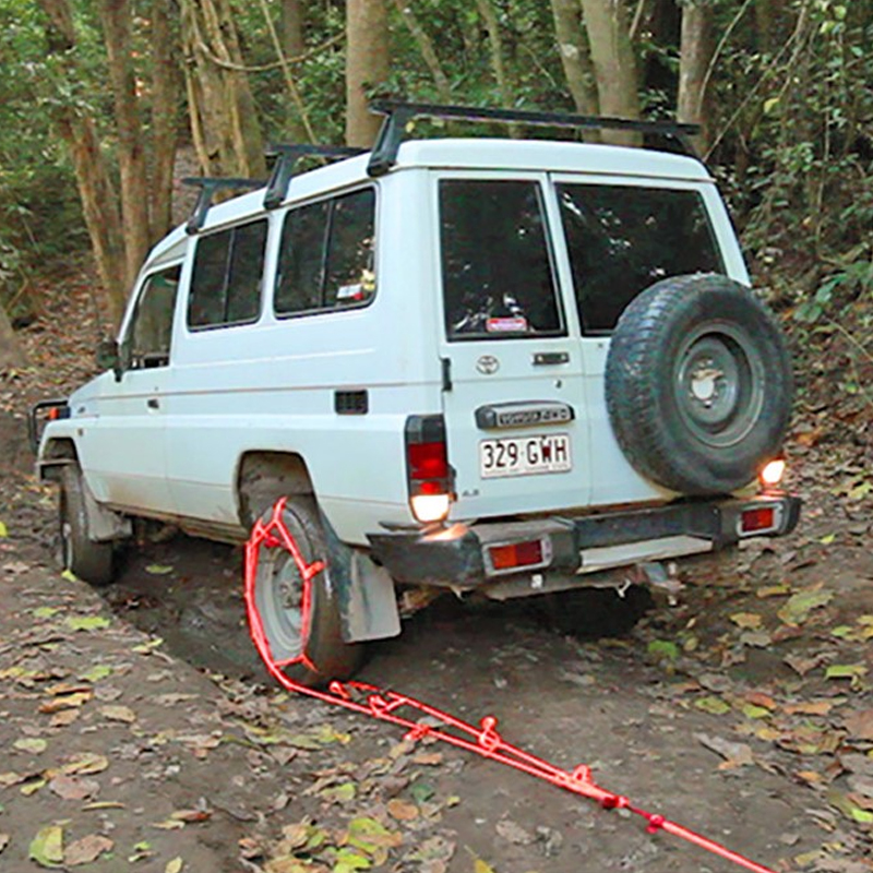 【50% Off And Free Shipping】2 pack 'Bog Out' Turns Your Wheel Into a Winch, Gets You Unstuck From Anything