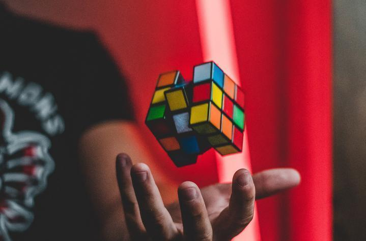 A Magic Rubik's cube