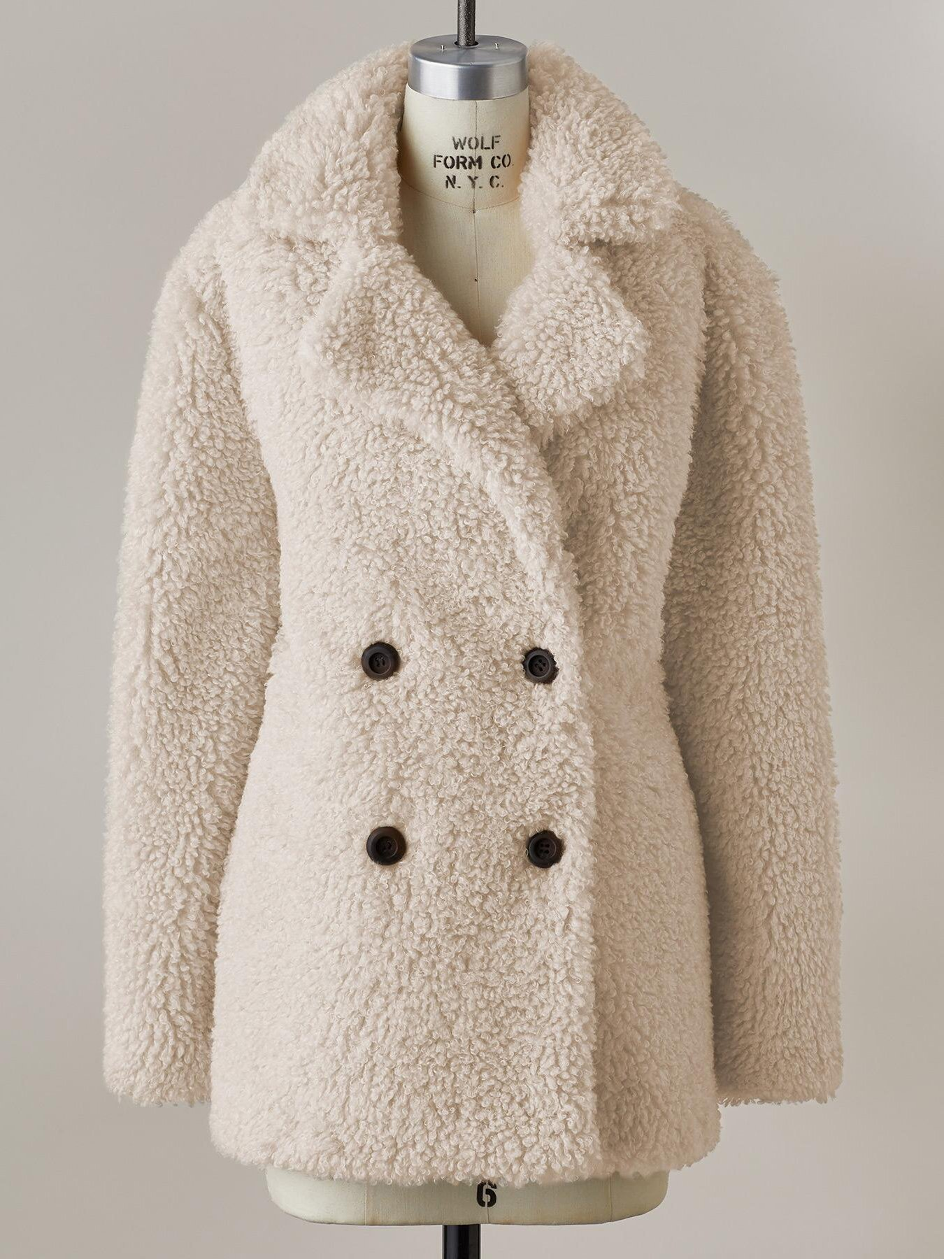 Keep warm plain thicken plain fleece coat