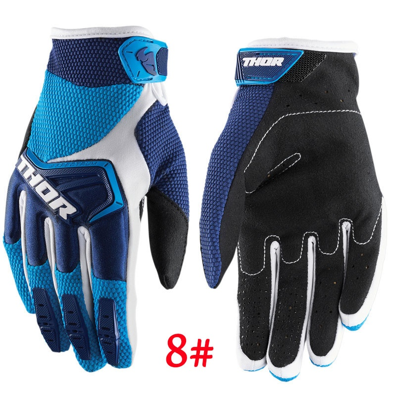 2019 Fashion New Seven Outdoor Sports Breathable Lightweight MTB Motorcycle Motocross Gloves Bike Cycling Gloves