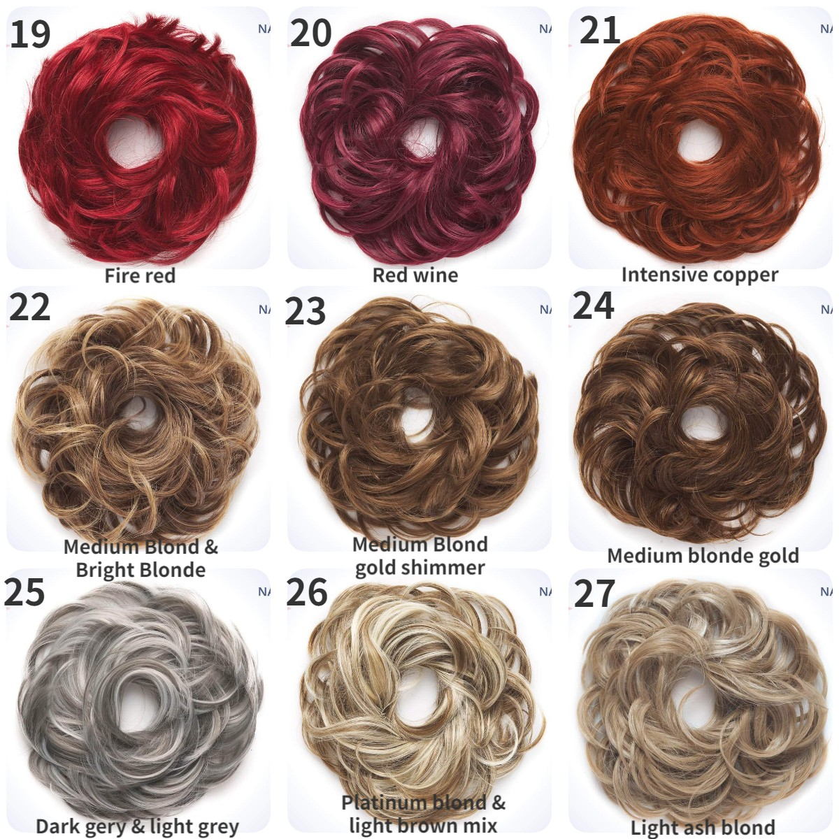 50% OFF--Updo Curly Bun Extension