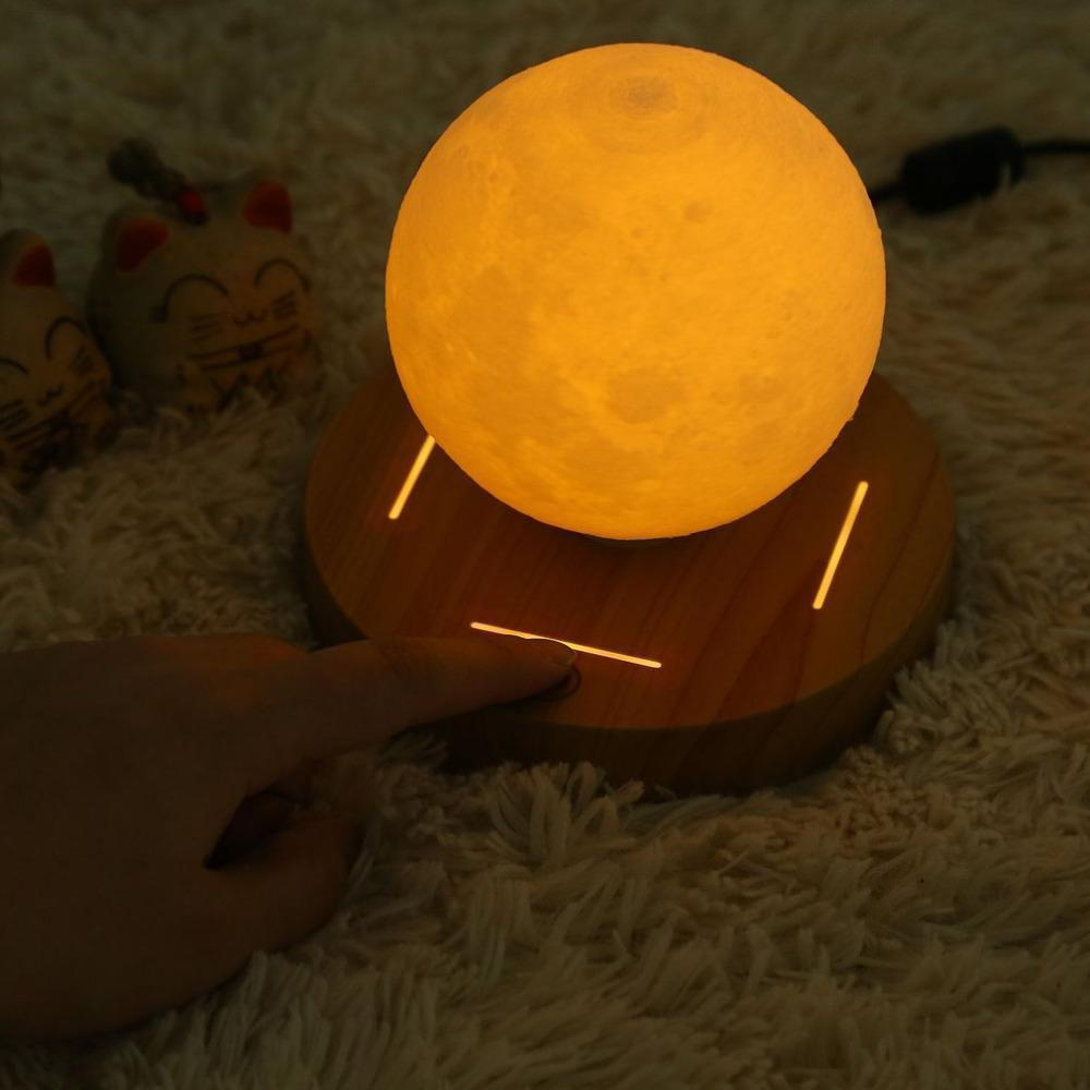 ###Valentine's Day Promotion##Mesmerizing Levitating Moon Lamp