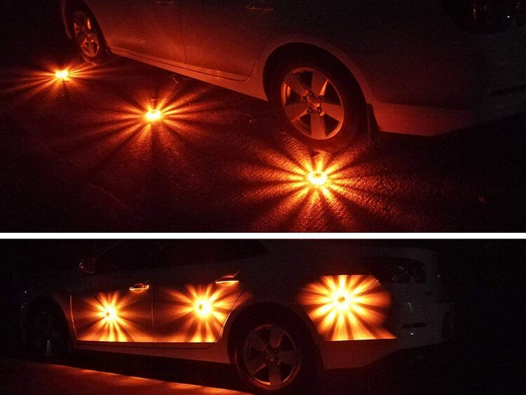 LED Road Flares Flashing Warning Light(Buy More Save More)
